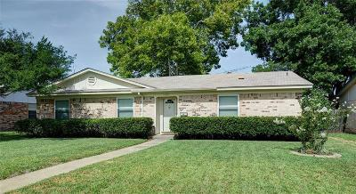 Garland Single Family Home For Sale: 1617 Mosswood Circle