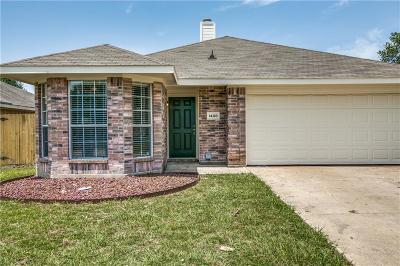 Terrell Single Family Home For Sale: 1408 S Medora Street