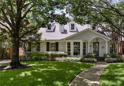 University Park Single Family Home For Sale: 4105 Purdue Avenue