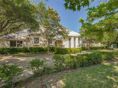 Dallas Single Family Home For Sale: 5615 Bent Tree Drive