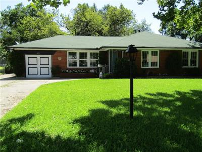 Mesquite Single Family Home For Sale: 614 S Galloway Avenue