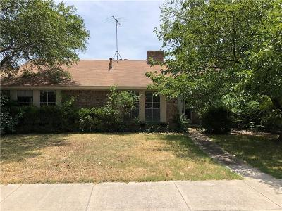 Carrollton Single Family Home For Sale: 2210 Greenvalley Drive