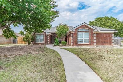 Abilene Single Family Home For Sale: 5102 Millie Court