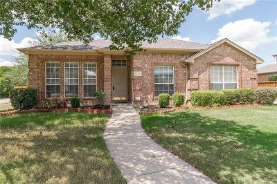Allen Single Family Home For Sale: 1226 Harvard Lane