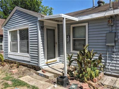Dallas Single Family Home For Sale: 1818 Mentor Avenue