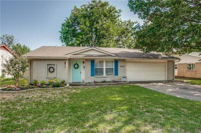 Richardson Single Family Home For Sale: 429 Lexington Lane