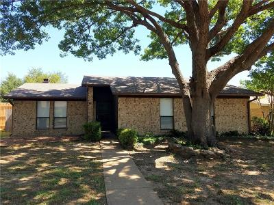 Garland Residential Lease For Lease: 2709 Chariot Lane