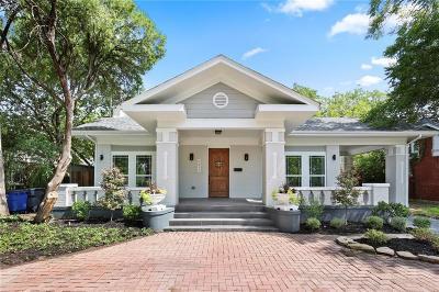 Dallas Single Family Home For Sale: 5611 Richmond Avenue