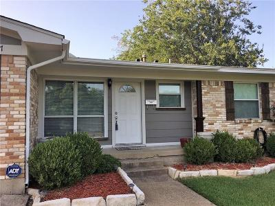 Garland Single Family Home For Sale: 4617 Cornell Drive