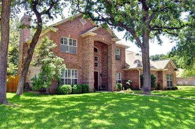 Azle Single Family Home For Sale: 1316 Crows Nest Court