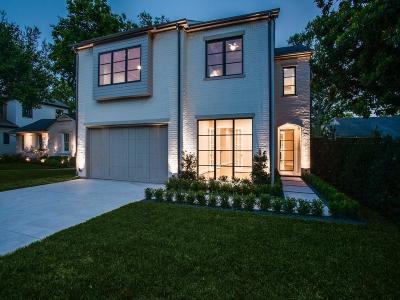 Dallas County Single Family Home For Sale: 4722 Purdue Avenue