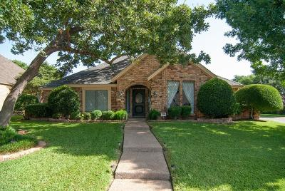 Hurst, Euless, Bedford Single Family Home Active Option Contract: 849 Shady Lake Drive