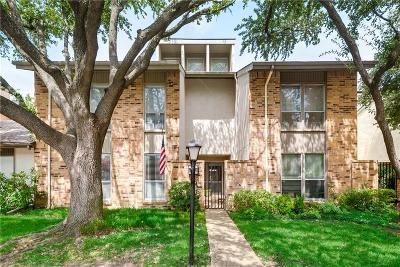 Dallas Townhouse For Sale: 9827 Smokefeather Lane