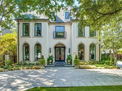 Dallas Single Family Home For Sale: 6606 Meadow Road