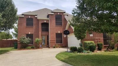 Red Oak Single Family Home For Sale: 117 Evening Star Circle