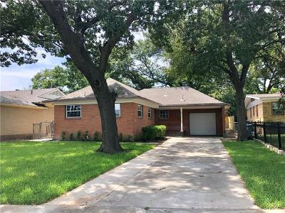 Single Family Home For Sale: 2626 W Jefferson Boulevard