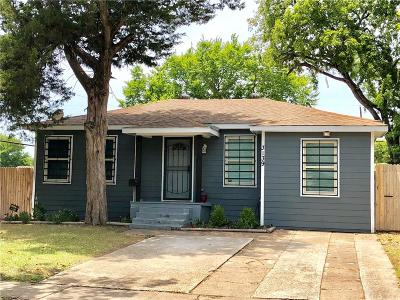 Dallas Single Family Home For Sale: 3139 Alaska Avenue