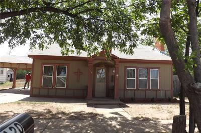 Hamlin TX Single Family Home For Sale: $27,000