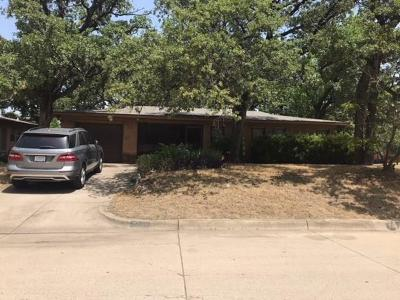 Fort Worth Single Family Home For Sale: 6337 Norma Street