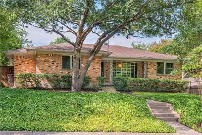 Dallas Single Family Home For Sale: 11016 Creekmere Drive