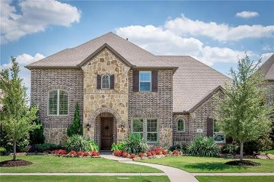 Allen Single Family Home For Sale: 861 Fountain View Court