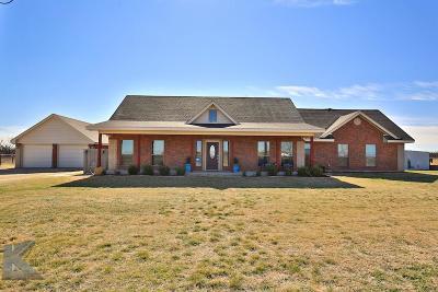 Abilene Single Family Home For Sale: 14431 Private Road 3201