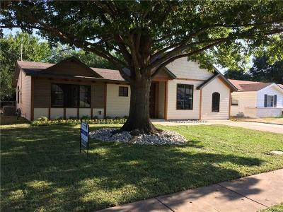 Irving Single Family Home For Sale: 1826 Morgan Street