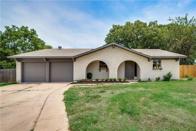 Tarrant County Single Family Home For Sale: 411 Colgate Court
