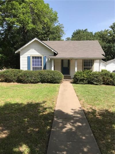 Stephenville TX Single Family Home Active Option Contract: $95,000