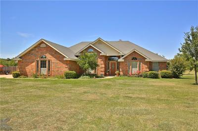 Abilene Single Family Home For Sale: 8250 Saddle Creek Road