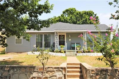 Dallas Single Family Home For Sale: 1607 Brandon Street