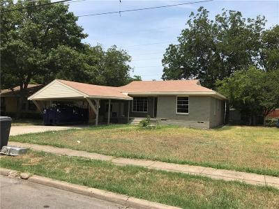 Dallas Single Family Home For Sale: 3735 Bolivar Drive