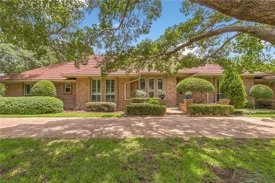 Fort Worth Single Family Home For Sale: 3601 Ridglea Country Club Drive