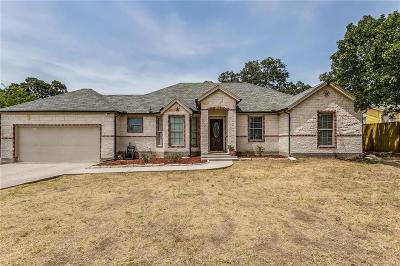Azle Single Family Home For Sale: 411 Dunaway Lane