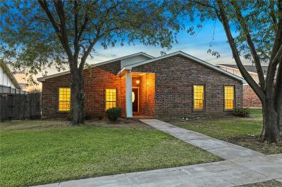 The Colony Single Family Home Active Option Contract: 5144 Sherman Drive