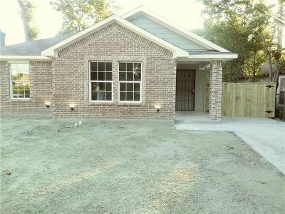 Dallas Single Family Home For Sale: 3638 Carpenter Avenue