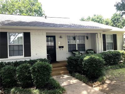 Parkview Estates Single Family Home For Sale: 210 Murray Lane