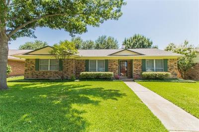 Mesquite Single Family Home For Sale: 4837 Preston Trail Drive