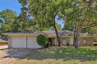 Bedford Single Family Home Active Contingent: 805 Spring Lake Drive