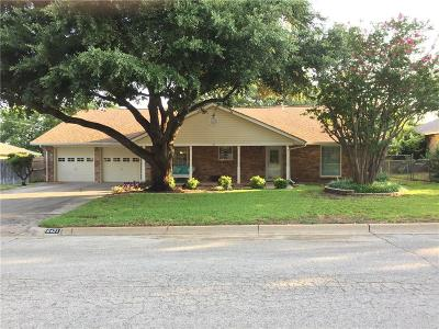 North Richland Hills Single Family Home For Sale: 6421 Cliffside Drive
