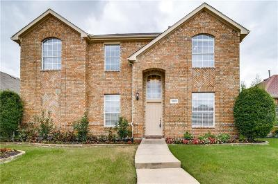 Allen Single Family Home For Sale: 1520 Fallcreek Court