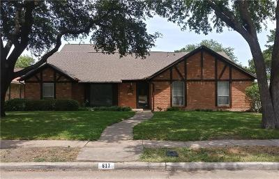 Richardson Single Family Home For Sale: 617 E Spring Valley Road