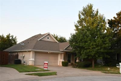 Grapevine Single Family Home Active Option Contract: 104 Nestlewood Lane