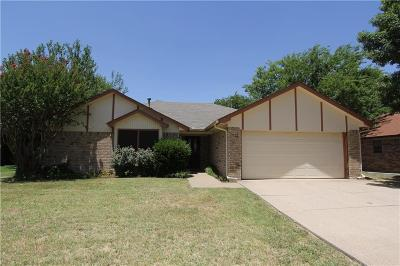 Single Family Home For Sale: 712 California Trail