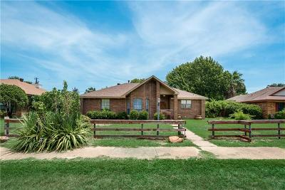 Rowlett Single Family Home Active Option Contract: 2314 Fuqua Road