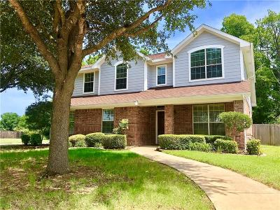 Terrell Single Family Home Active Option Contract: 136 Redwood Lane