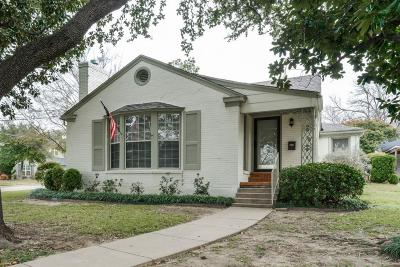 Single Family Home For Sale: 2601 Highview Terrace