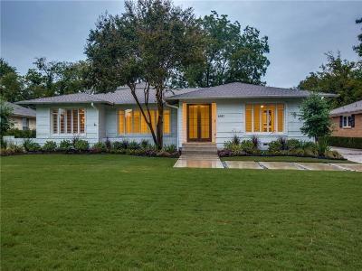 Dallas Single Family Home For Sale: 6441 Park Lane