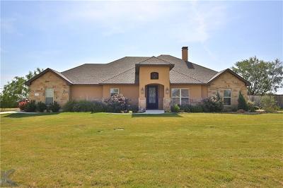 Abilene Single Family Home For Sale: 133 Chardonnay Way