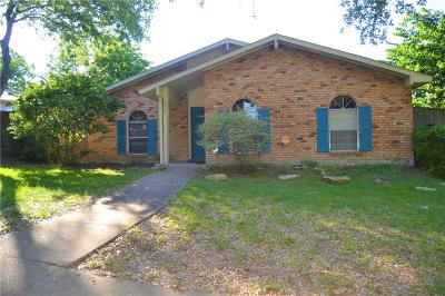 Garland Single Family Home Active Option Contract: 2937 Emberwood Drive